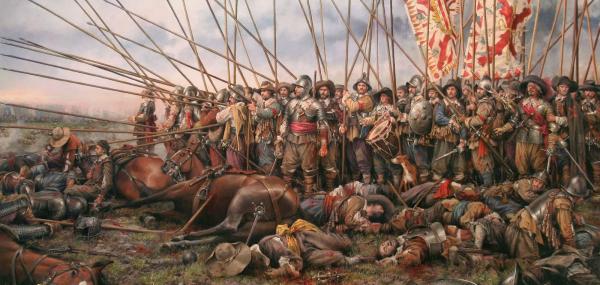 ¿Cual fue la causa de la caída del imperio español?